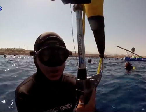 The deepest dive with the Mask! -175 mt No Limits Record Italiano