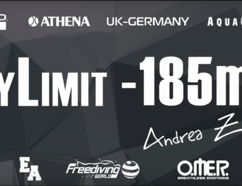My Limits -185 Mt No Limits – Italian Record